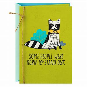 Born To Stand Out Birthday Card For Son Greeting Cards