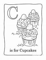Cupcake Coloring Pages Cupcakes Printable Birthday Facile Cup Cakes Candy Colouring Cake Adult Cartoon Easy Sweet Adults Coloriage Read sketch template