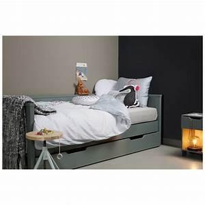 cadre de lit banquette pour enfant en pin massif nikki With tapis kilim avec lit escamotable canapé occasion