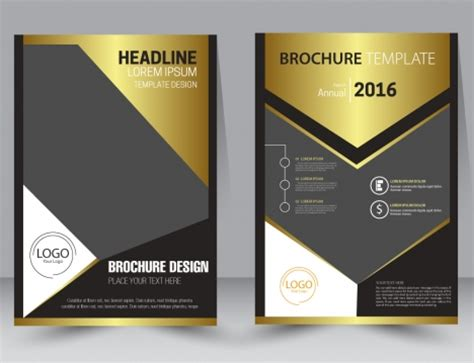 Modern Brochure Design Templates by Brochure Design Template With Modern Style Background