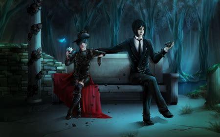black butler  anime background wallpapers