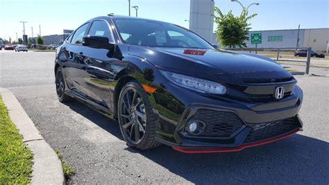 Used 2018 Honda Civic Si Hfp Sedan In Montreal, Laval And