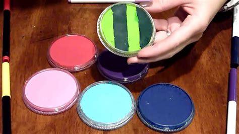 rainbow cakes face painting youtube