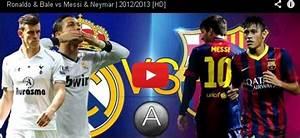 totalscummaterials: VIdeo: Messi y Neymar VS Ronaldo y Bale