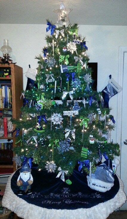 christmas decor seattle seahawks decorated house decoratingspecial