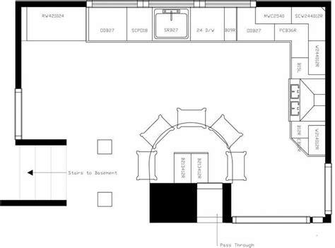 kitchen floor plans with islands kitchen kitchen floor plans with islands u shaped