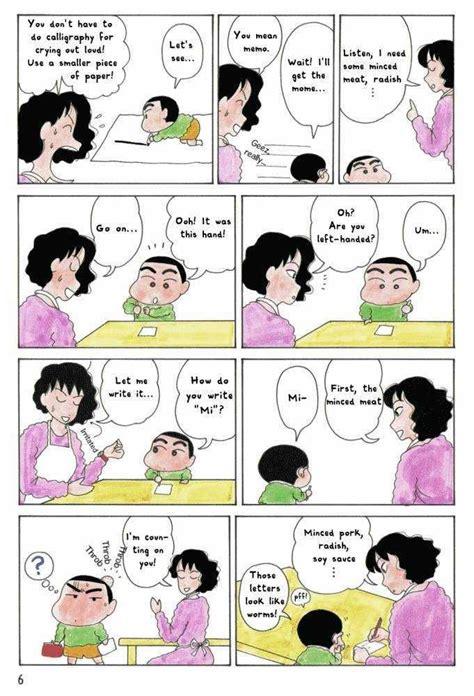 shin chan episode  chapter  crayon shin chan manga