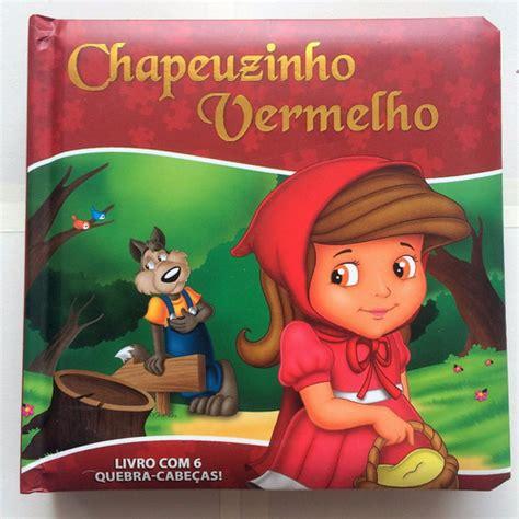 Livro Quebra-cabeça E História Infantil Chapeuzinho ...