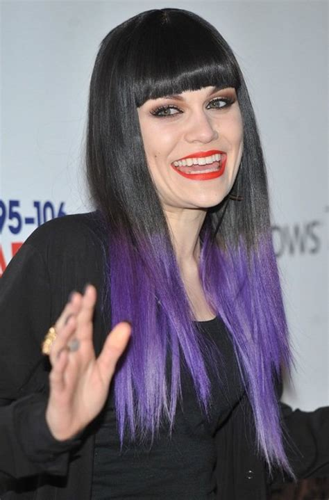 Celebrity Trend 5 Ways To Showoff Purple Ombre Hair