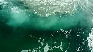 Whirlpools By The Ocean Surface Stock Footage Video ...
