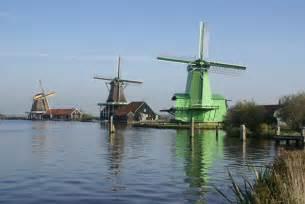 Netherlands Holland Windmills
