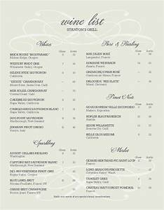 sample wine list letter wine list With wine dinner menu template