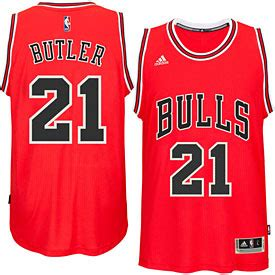 chicago bulls jimmy butler red swingman jersey