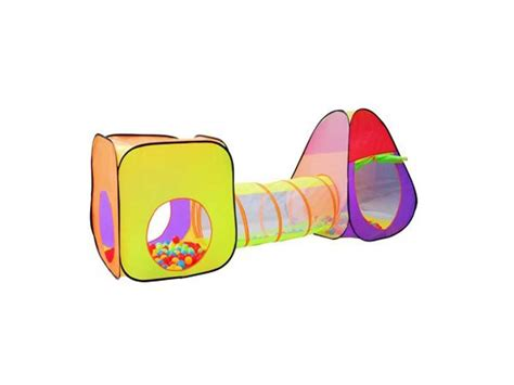 Bērnu Telts ar tuneli + 200 (gab) bumbām, BB111 ...