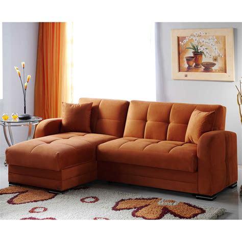 orange microfiber sofa istikbal kubo rainbow orange microfiber sectional sofa sofas loveseats at hayneedle