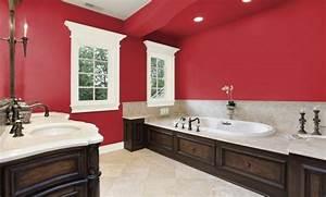 peinture salle de bain 80 photos qui vont vous faire craquer With idee salle de bain couleur