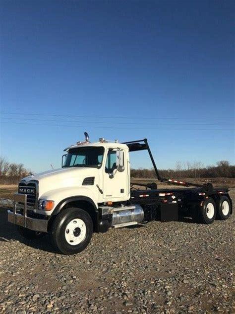 mack granite cv713 garbage trucks for sale used trucks on