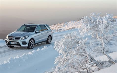 Mercedes Gle Class Backgrounds by Wallpapers Snow 2016 Mercedes Gle Class