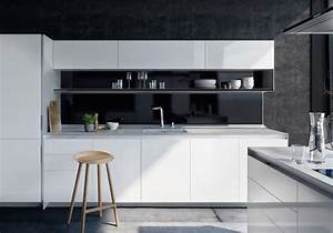 Cuisine Blanc Et Noir : la cuisine noire et blanche plus contemporaine que jamais elle d coration ~ Voncanada.com Idées de Décoration