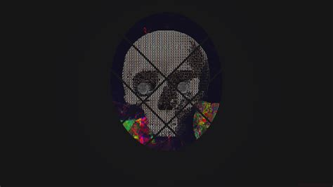 skull abstract art  hd artist  wallpapers images