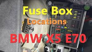Bmw X5 E53 Fuse Box Location