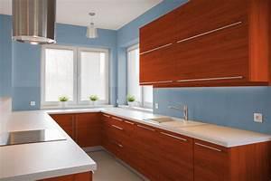 i migliori colori delle pareti per una cucina ciliegio With migliori cucine da appoggio