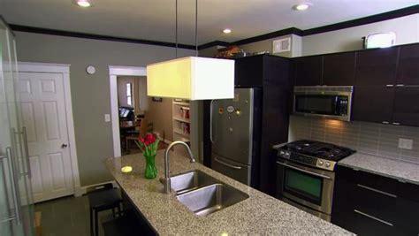 chic city row house kitchen video hgtv
