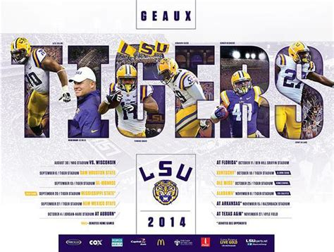 sec football team schedule posters
