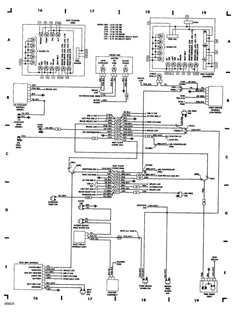 Wiring Diagram For 1988 Chevrolet 12 by My 1996 Silverado Battery Ran Lights Fuse Box Cover