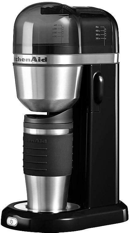 Thermoskanne Mit Filteraufsatz by Kitchenaid 174 Kaffeemaschine 5kcm0402eob Onyx Schwarz