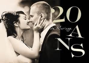 anniversaire de mariage 20 ans carte d 39 invitation anniversaire de mariage 20 ans colorés