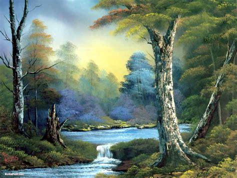 Bob Ross Paintings