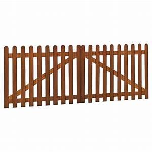 Lapeyre Portail Bois : portail battant bois manosque html ~ Premium-room.com Idées de Décoration