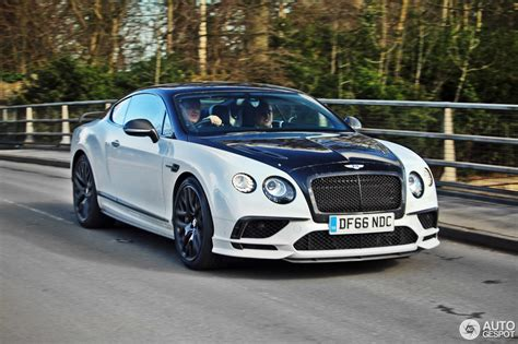Bentley Continental Supersports Coupé 2018 8 March 2017