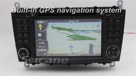 mercedes benz  class  stereo specialized gps