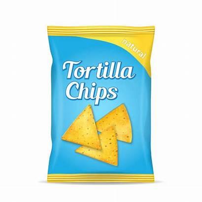 Tortilla Chip Vector Clip Chips Corn Bag