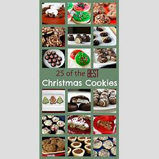 25 Of The Best Christmas Cookies Ever  What Megan's Making