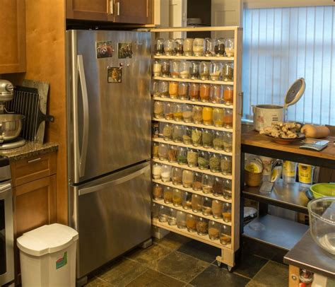 How To Make A Spice Rack Out Of Wood by I Made A Spice Rack To Fit 72 Jars Worth Of Spices