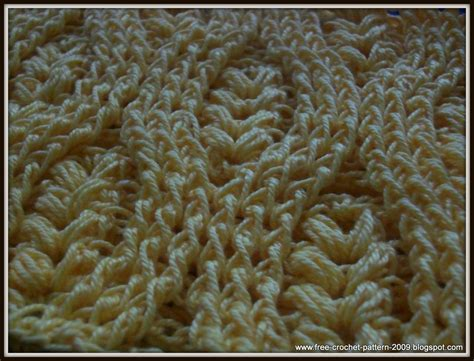 crochet stitches girlie s crochet how to crochet front post double crochet fpdc