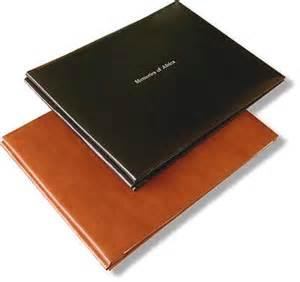 scrapbook refill pages landscape format bonded leather scrapbook