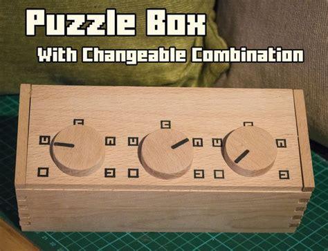 puzzle box  changeable combination boxes escape