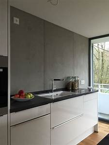 Putz In Betonoptik : k che in beton optik walls and rugs pinterest k che betonoptik und k che gestalten ~ Bigdaddyawards.com Haus und Dekorationen