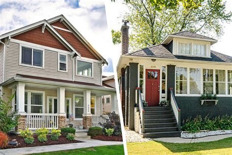 Would You Rather New Or Vintage Craftsman Homes? Real
