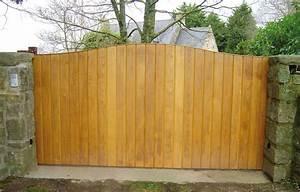 Portail En Bois Pas Cher : kit portail bois portillon largeur 1 50m expression maison ~ Melissatoandfro.com Idées de Décoration