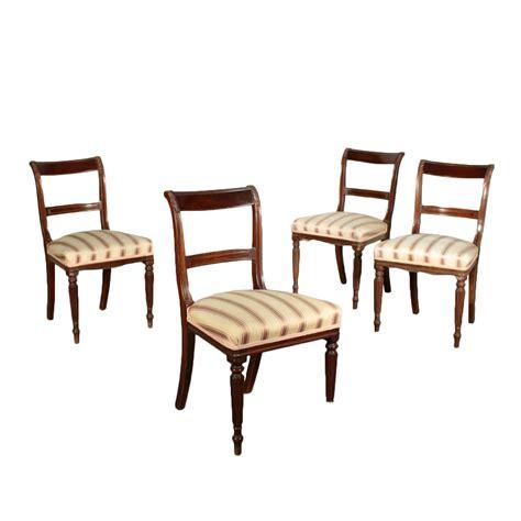 sedia inglese gruppo di quattro sedie inglesi sedie poltrone divani