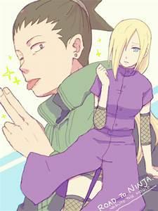 Tags: Anime, Fanart, NARUTO, Nara Shikamaru, Yamanaka Ino ...
