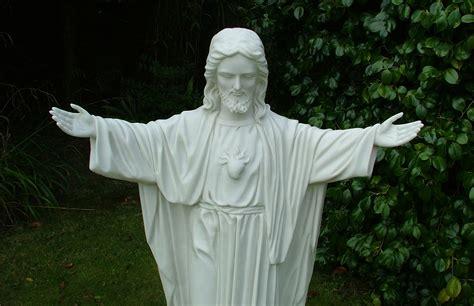 Religious Outdoor Garden Statues large garden statues religious jesus sculpture ebay