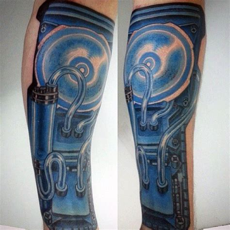 computer tattoo designs  men technology ink ideas