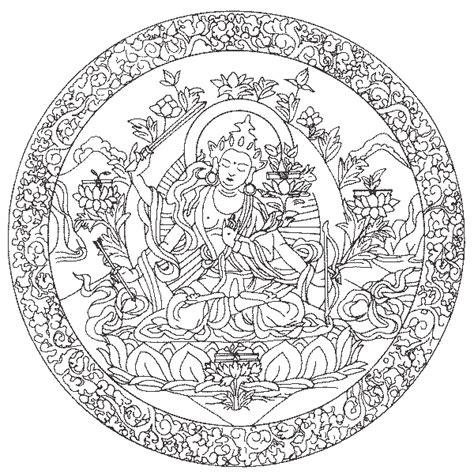 mandala vorlagen feen ausmalbilder