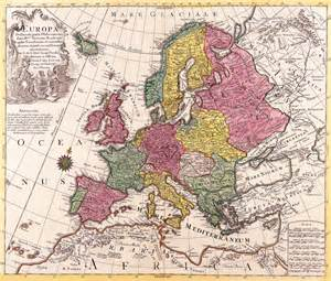 antique maps   worldmap  europeconrad lotterc